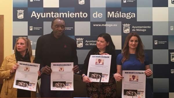 La ciudad de Málaga acoge una campaña de apoyo a la investigación de la esclerosis múltiple
