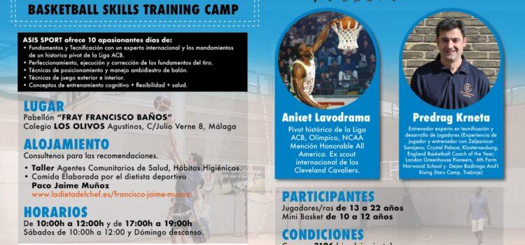 ASIS Sport organiza: CAMPUS BALONCESTO MÁLAGA 2020